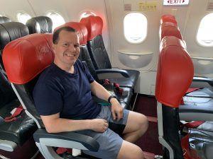 AirAsia Exit Row Hot Seat