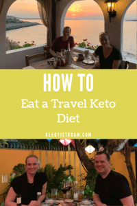 How to eat a travel keto diet