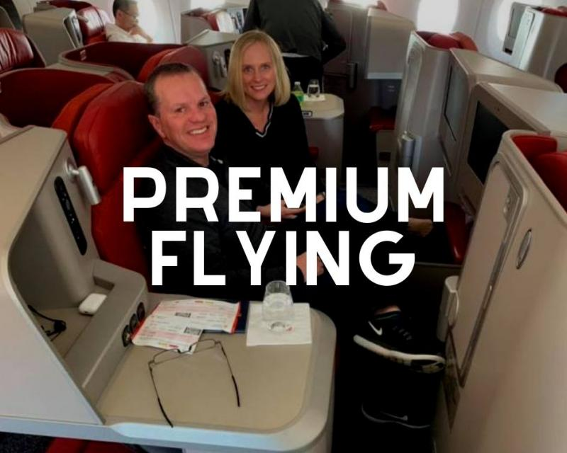 Premium cabin flights